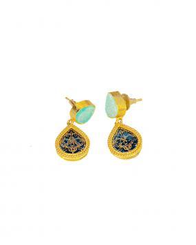 Azure Delight Earrings....