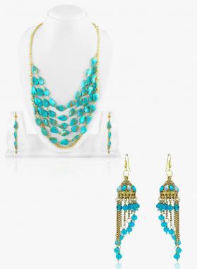 Bo'Bell Exquisite Fashion Tribal Blue Combo