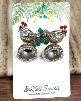 Dreamy Peacock Earrings....