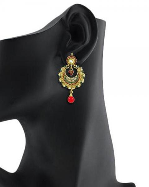 Bo'Bell Exotic Traditional Designer Earring