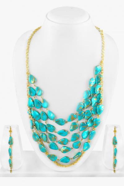 Bo'Bell Exquisite Fashion Tribal Blue Combo/AQUABLUE