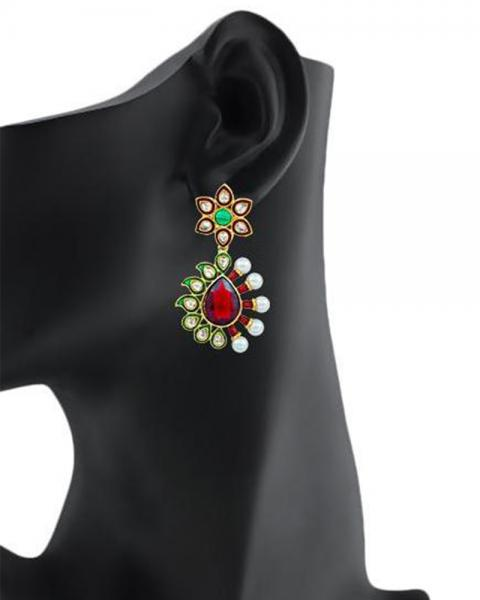 Bo'Bell Classic Artisanal Striking Designer Earring