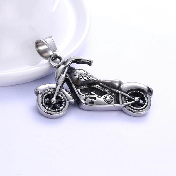 Stainless Steel Bike Pendent