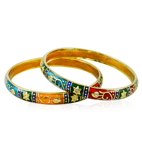 Dress to impress with this bangle set.