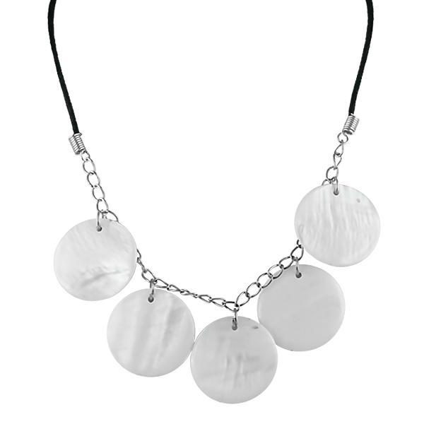Bo'Bell Stylish Funky Abalony Shell Necklace