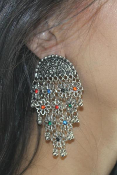 A Earrings that you can use to dress up or dress down