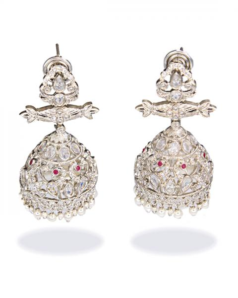 Martina CZ Diamond Danglers