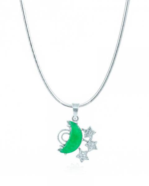Jade Moon and Stars