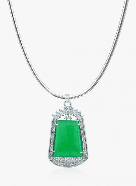 Dazzling Green Malaysian Jade Combo. Jade symbolizes Balance & Harmony.