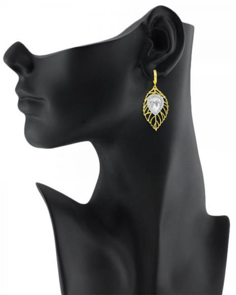 Bo'Bell Adorable Leafy Lazer Cut Designer Earring