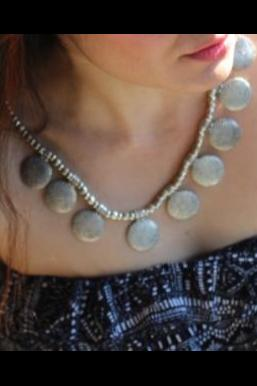 light up your look with this necklace.