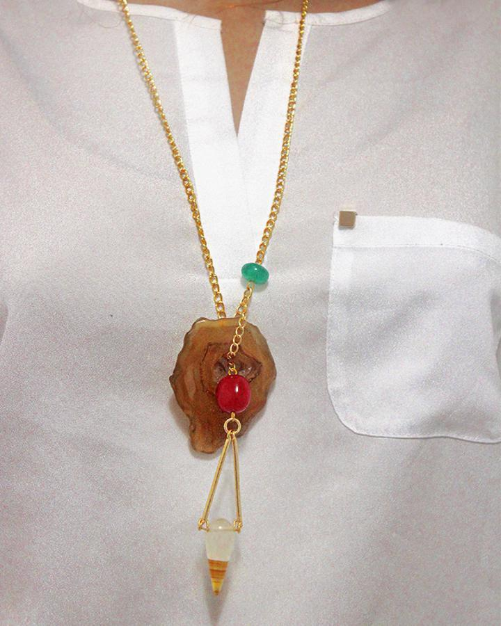 Oriana Aura Pendant Neckpiece