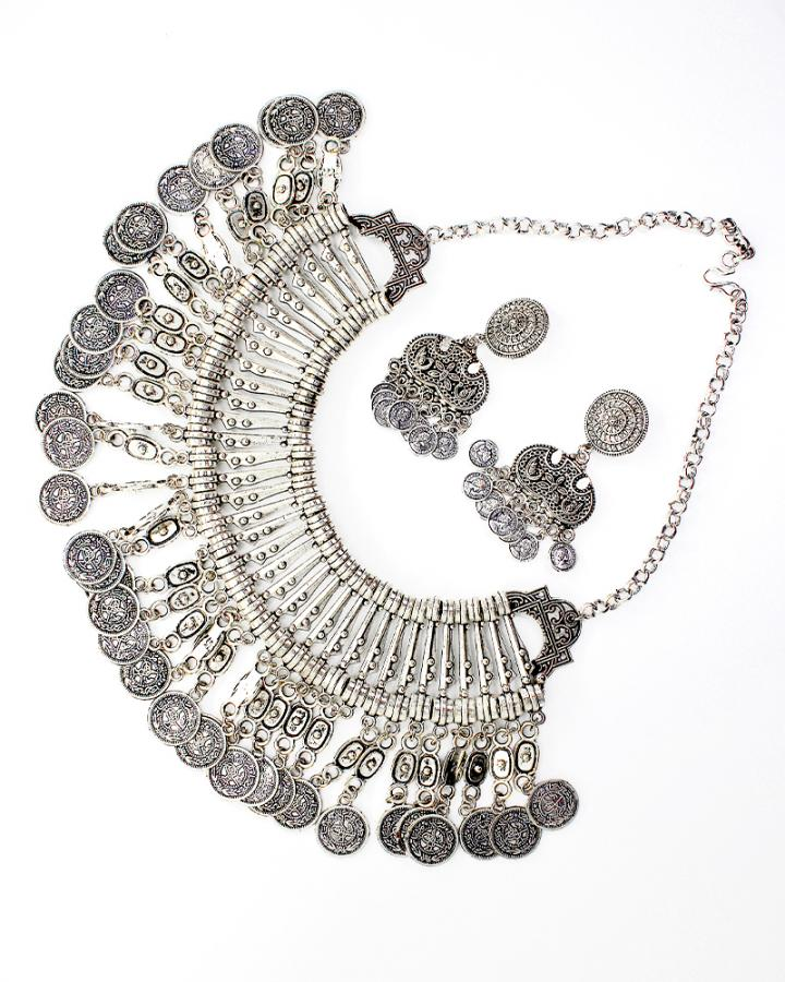 Halyn Coin Necklace Set