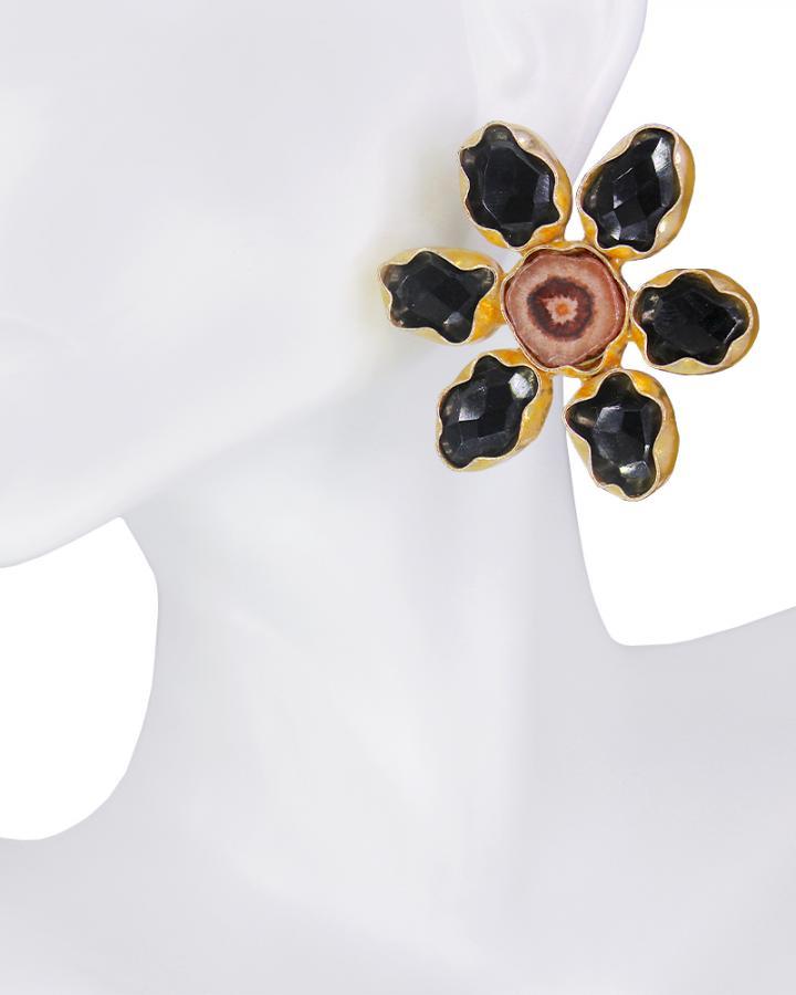 Daisy Black Beauty Earring