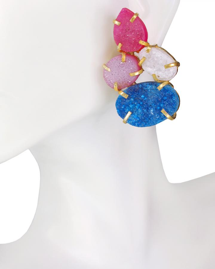 Sky Pink Earring