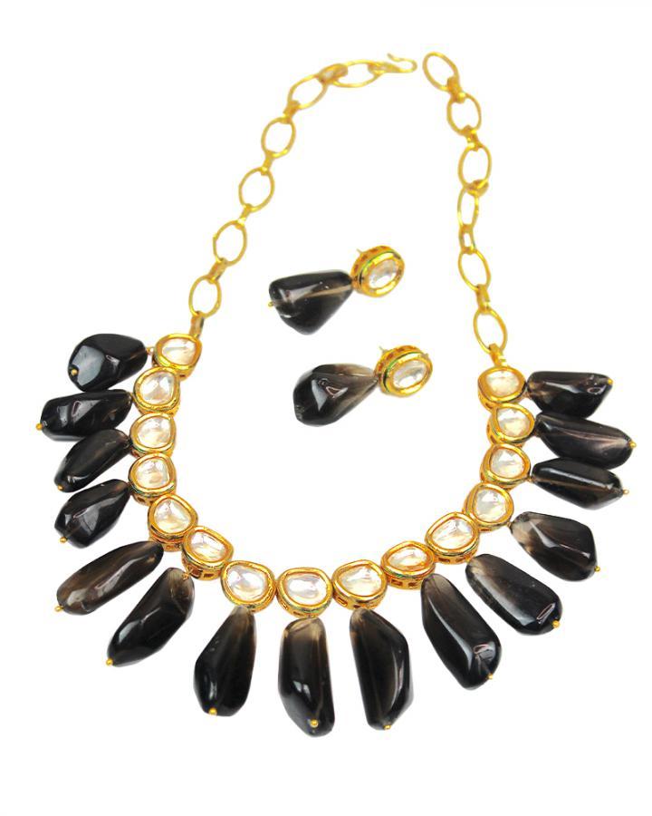 Olivia Black Beauty Necklace Set